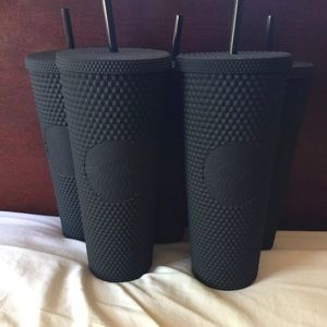 Fall 2019 Starbucks matte black studded tumbler